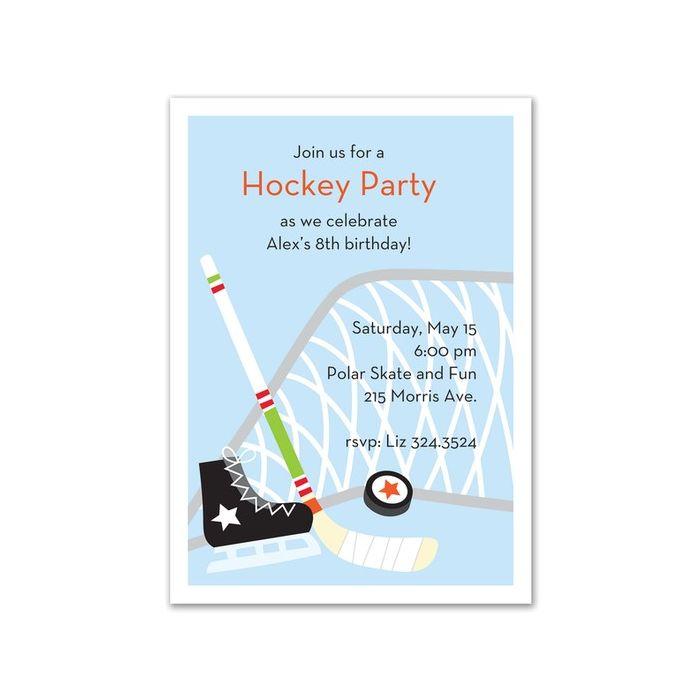 Hockey Star Invitation