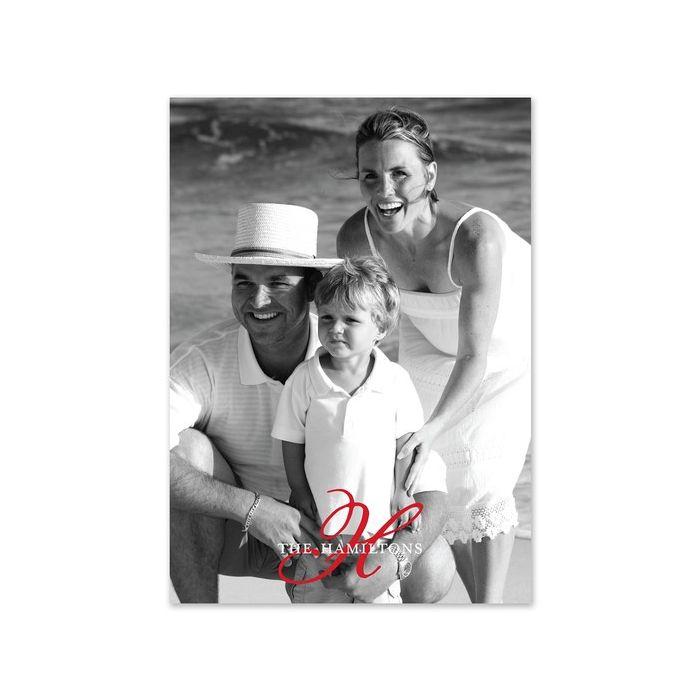 Family Ties Photo Card