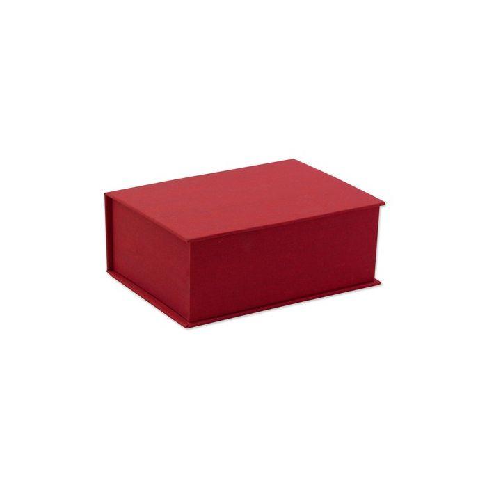 Red Silk Stationery Box