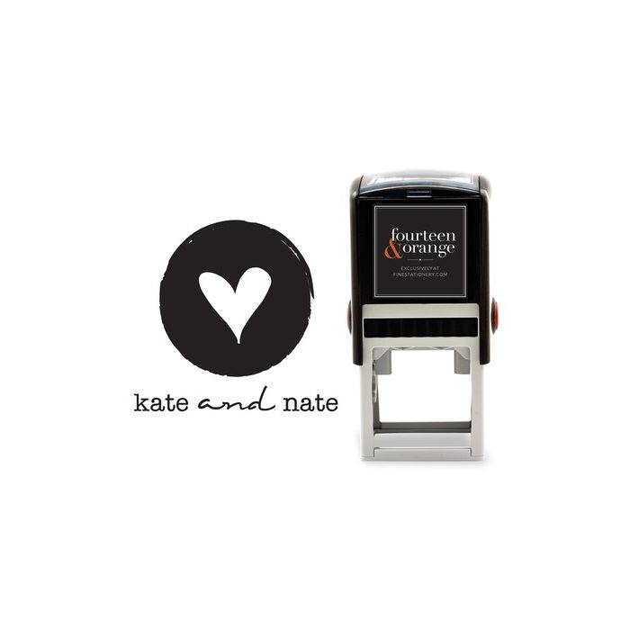 Etched Heart Stamp