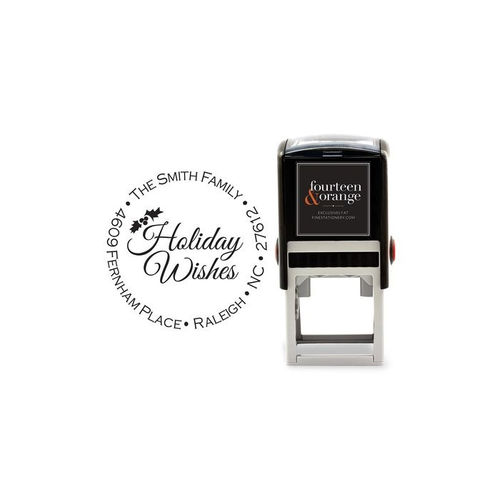 Holiday Wishes Stamp
