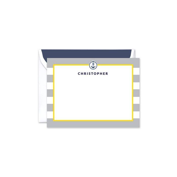 Mighty Stripe Flat Card