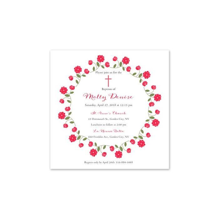 Rose Ring Invitation