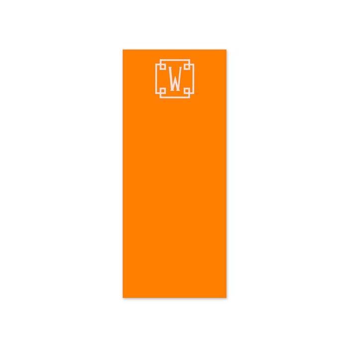 Skinny Orange Crush Note Pad