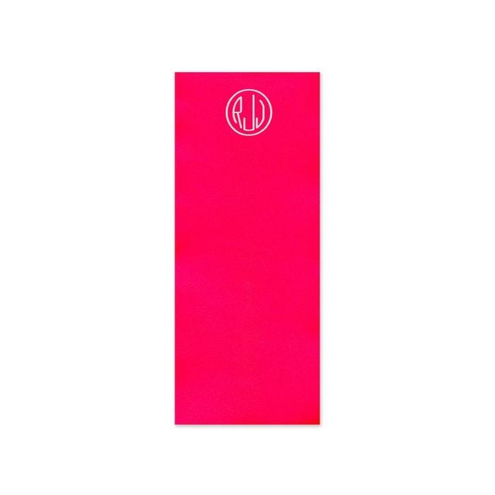 Skinny Fireball Red Note Pad