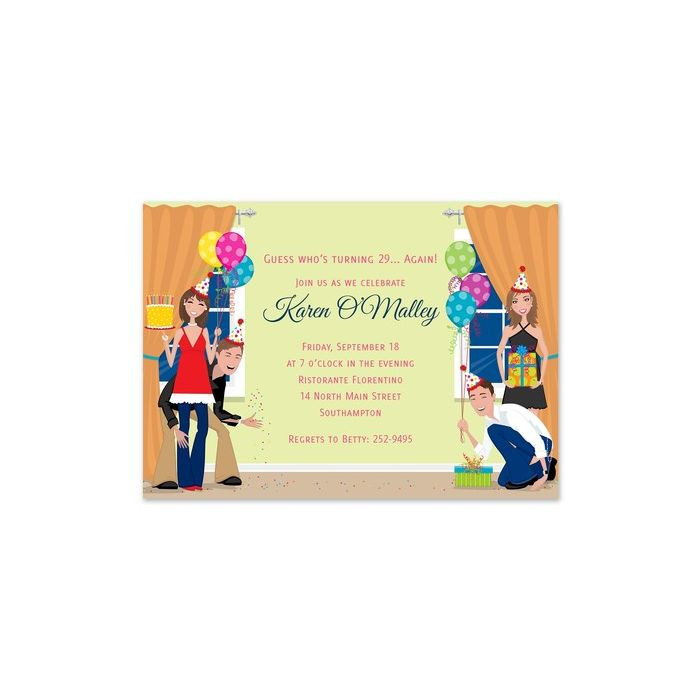 Party People Invitation