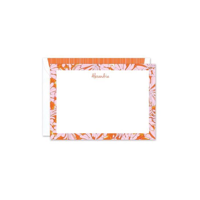 Flora Flat Card