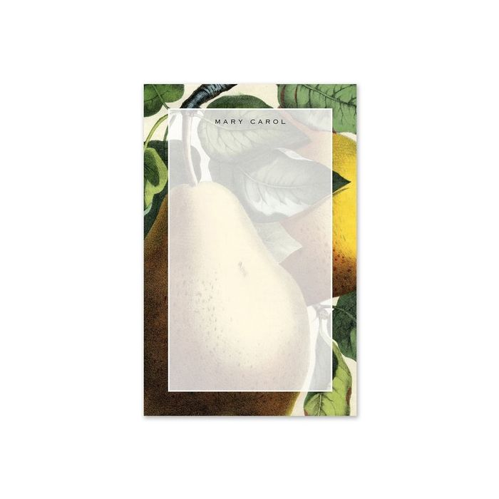 Pear Note Pad