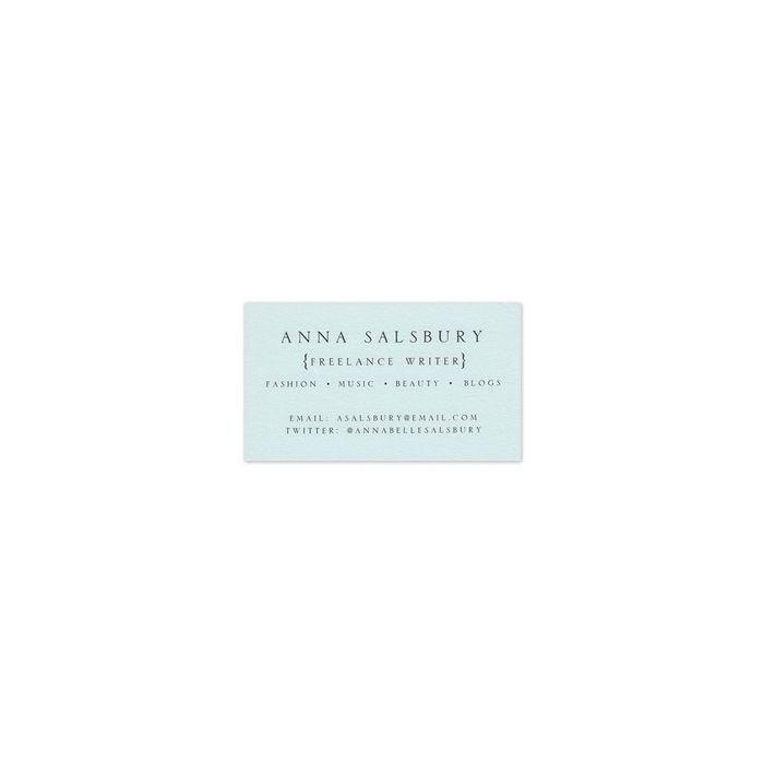 Everly Business Card