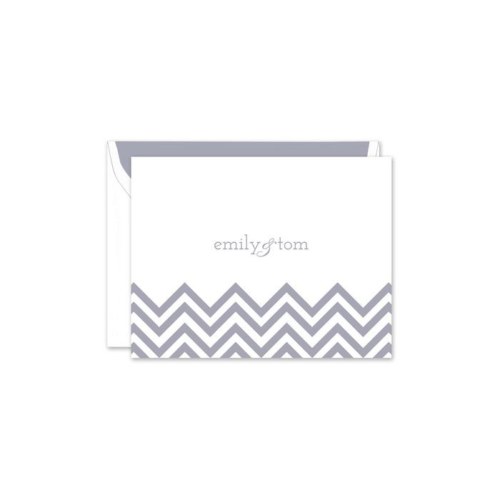 Chevron Note Card
