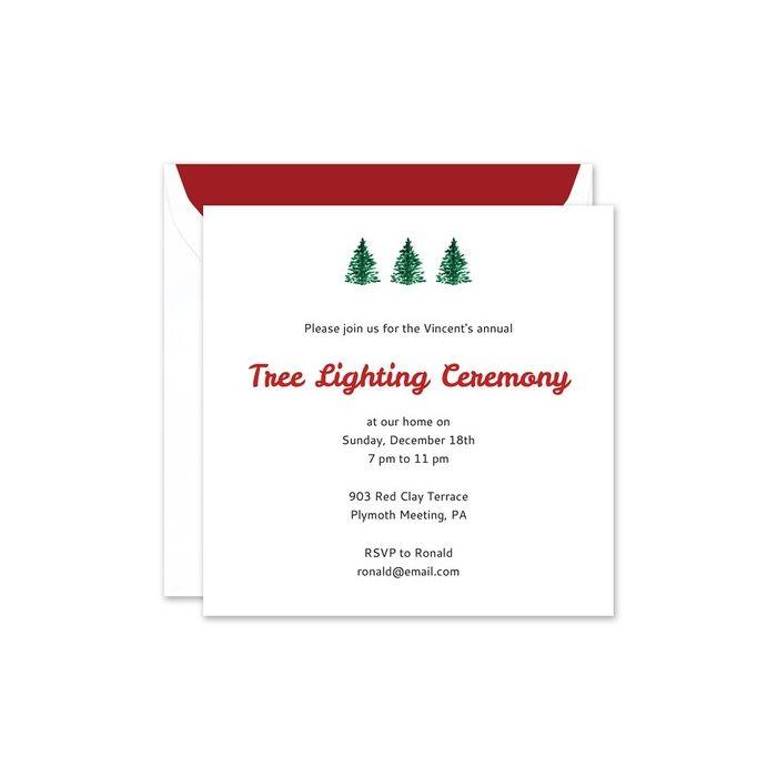 Tree Invitation