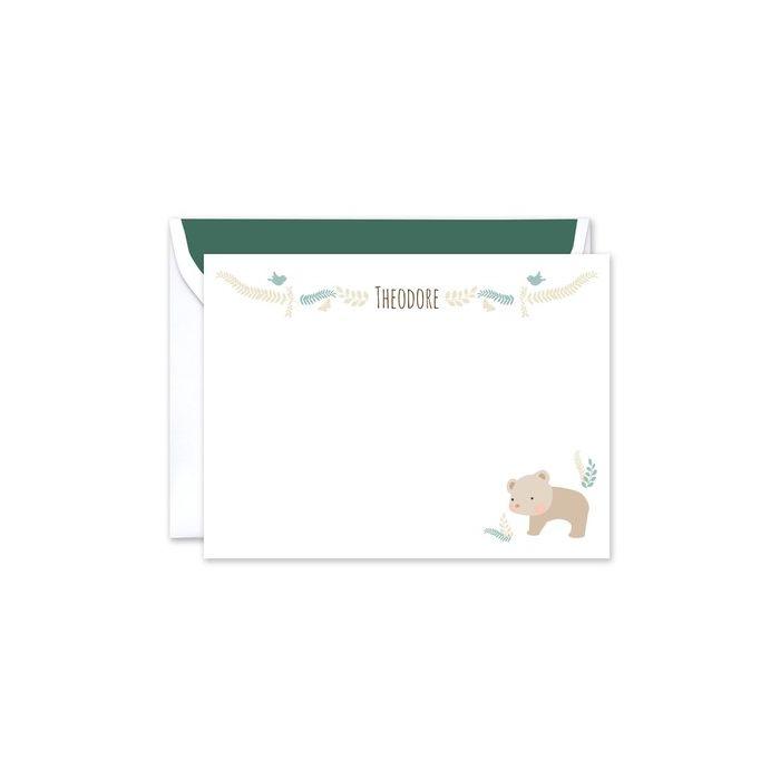 Bear Flat Card