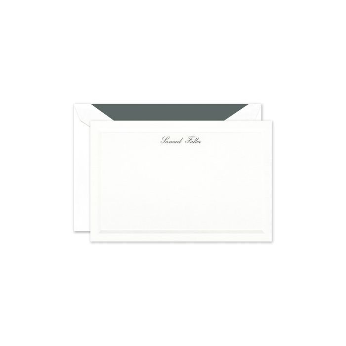 Metropolitan Flat Card
