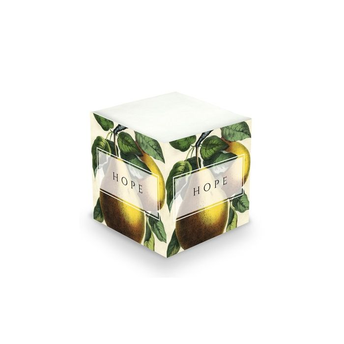 Pear Sticky Note Cube