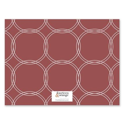 Circles Flat Card