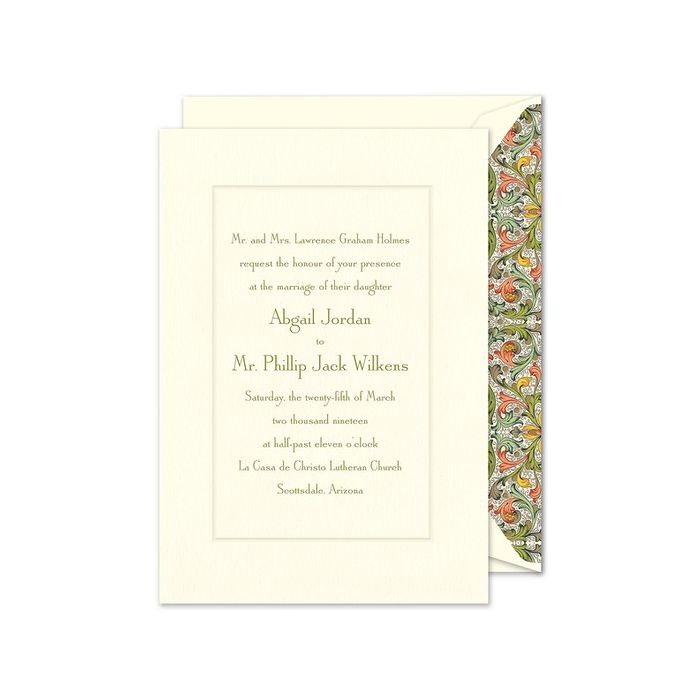 Manor Invitation