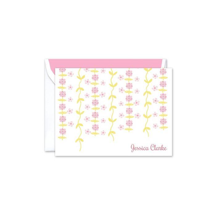 Floral Vine Note Card