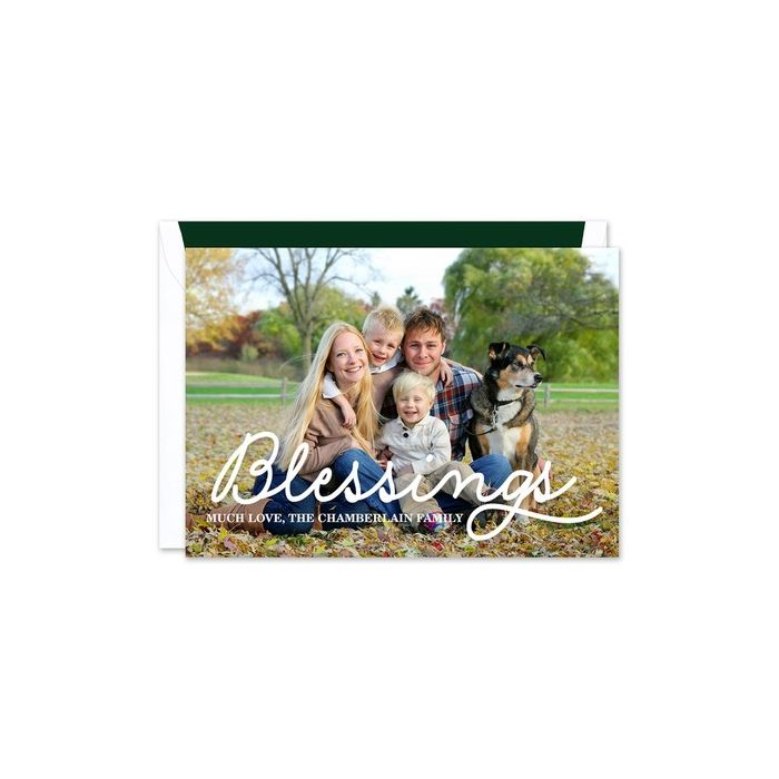 Pure Blessings Photo Card