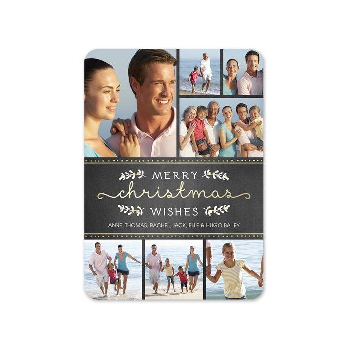 Shimmer Photo Card