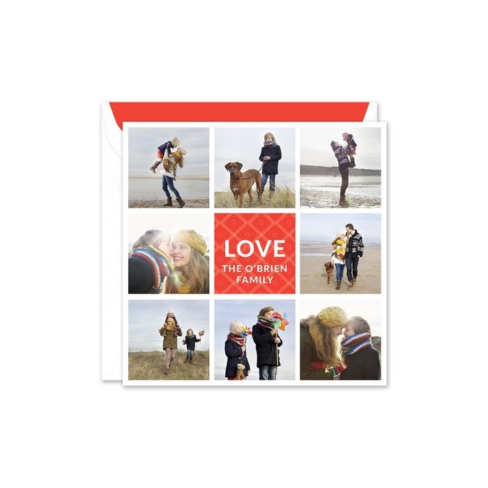 Love Photo Card