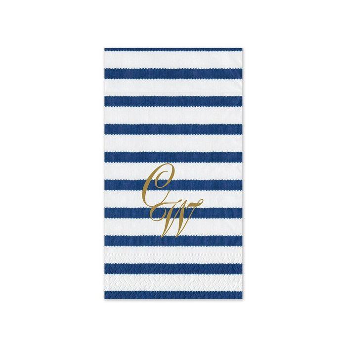 Bretagne Blue Guest Napkin