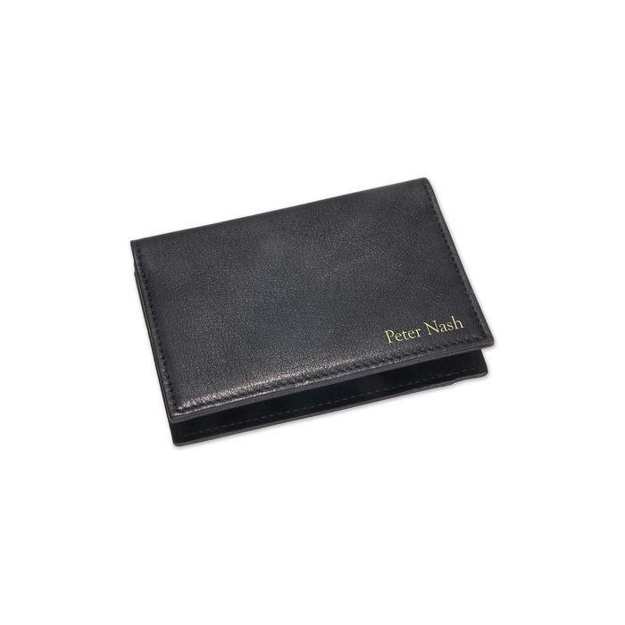 Black Business Card Case