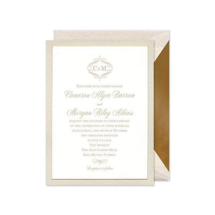 Opal Layered Invitation