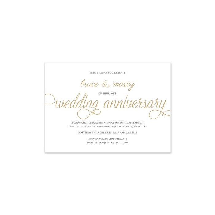 Photo Anniversary Invitation