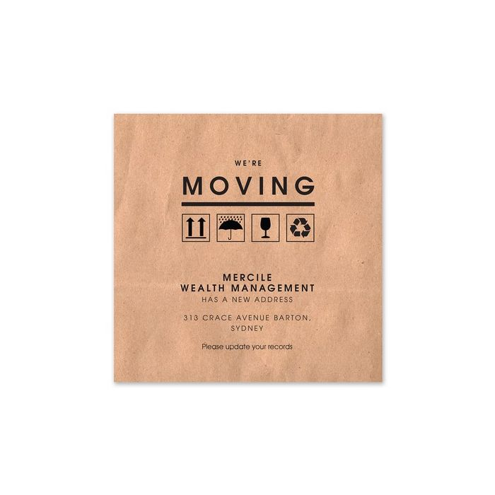 Moving Box Announcement
