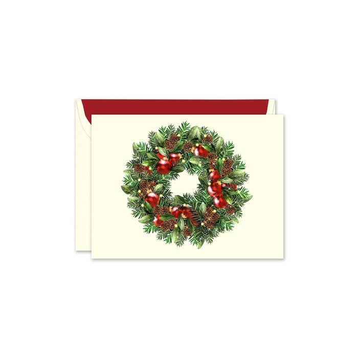Classic Wreath Greeting Card