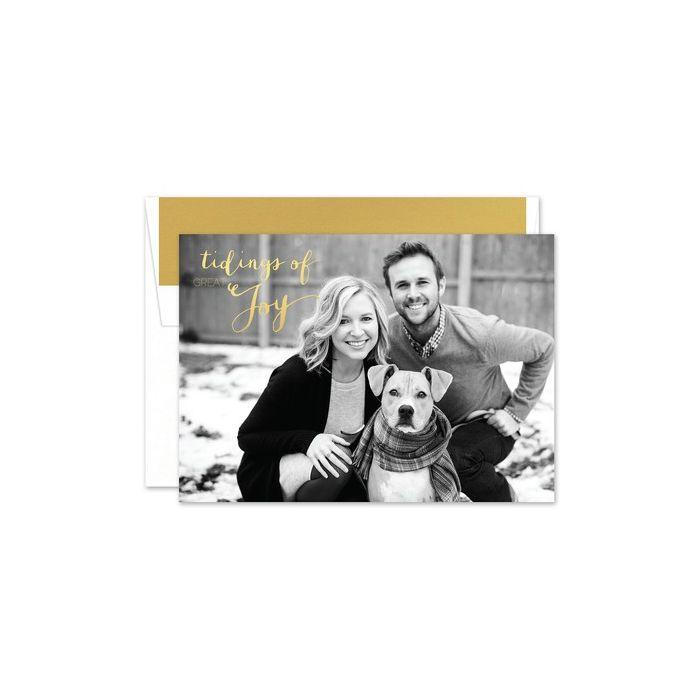 Joyful Tidings Photo Card