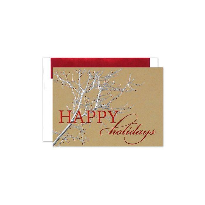 Rustic Holiday Greeting Card