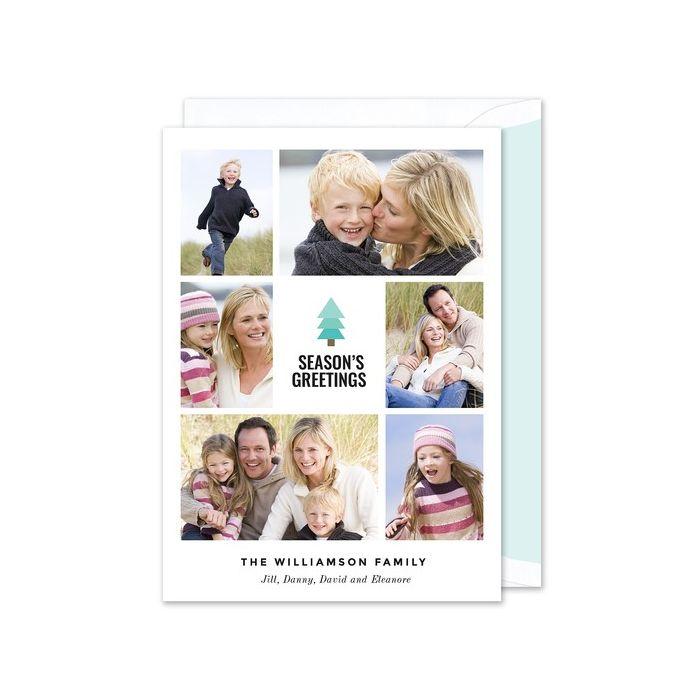 Evergreen Photo Card
