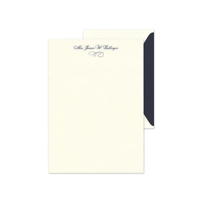 Ecru Lettersheet
