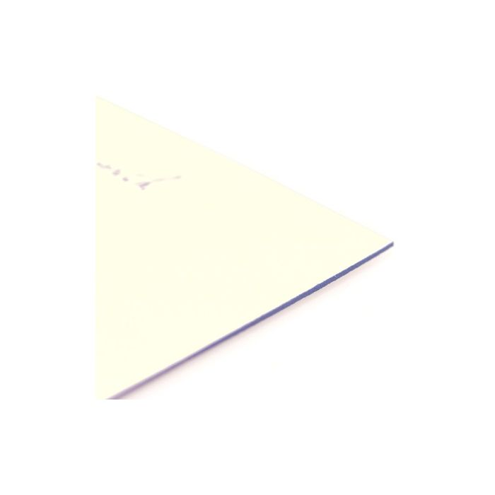 Periwinkle Edge Flat Card