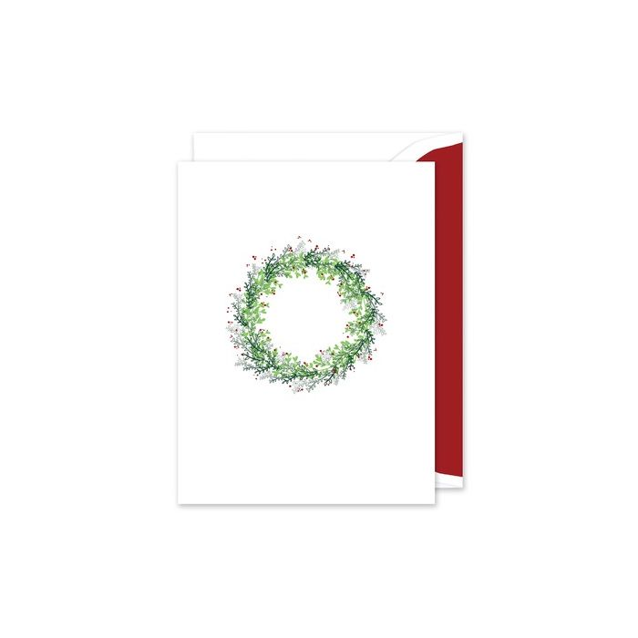 Winter Wreath Greeting Card