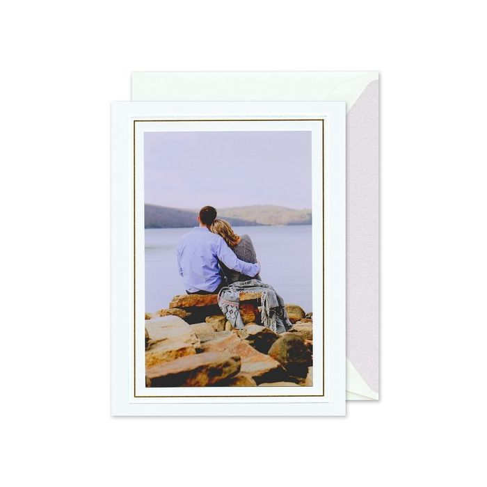 Beach Mounted Photo Card