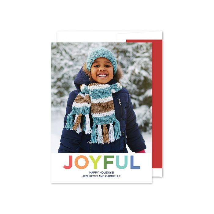 Joyful Photo Card