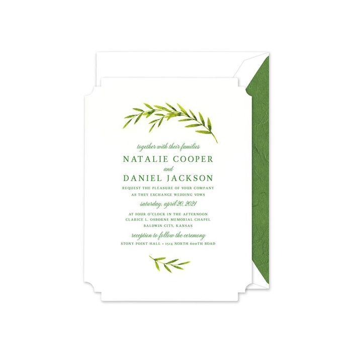 Foliage Invitation