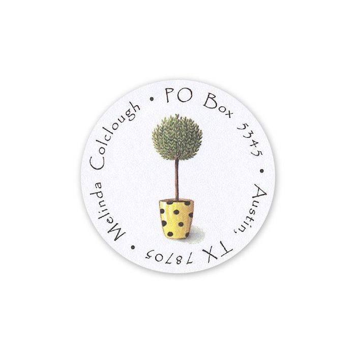 Rosemary Tree Label