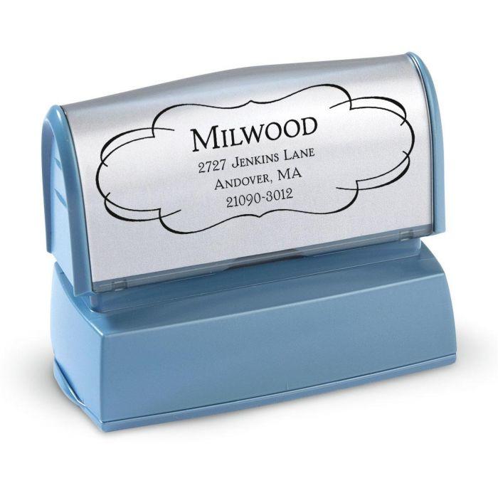 Elegant Frame Custom Address Stamp