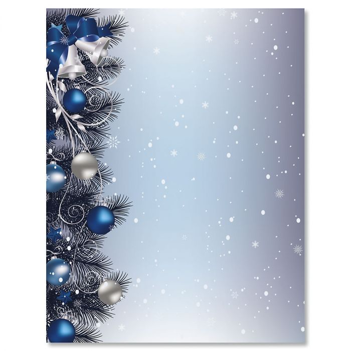 Silver Bells Letter Papers