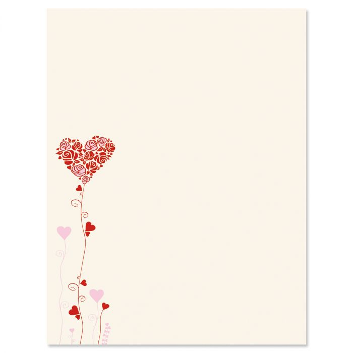 Seeds of Love Letter Papers