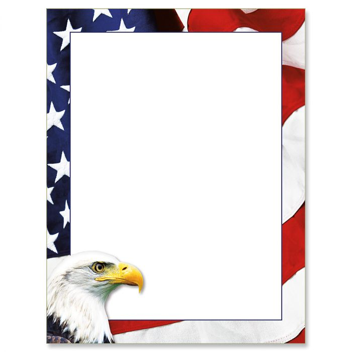 American Eagle Letter Papers