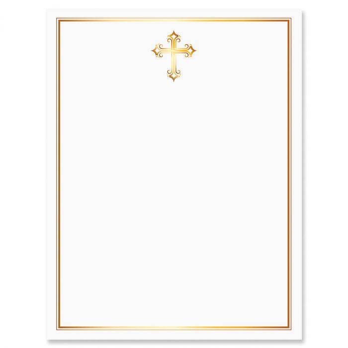 Golden Cross Letter Papers