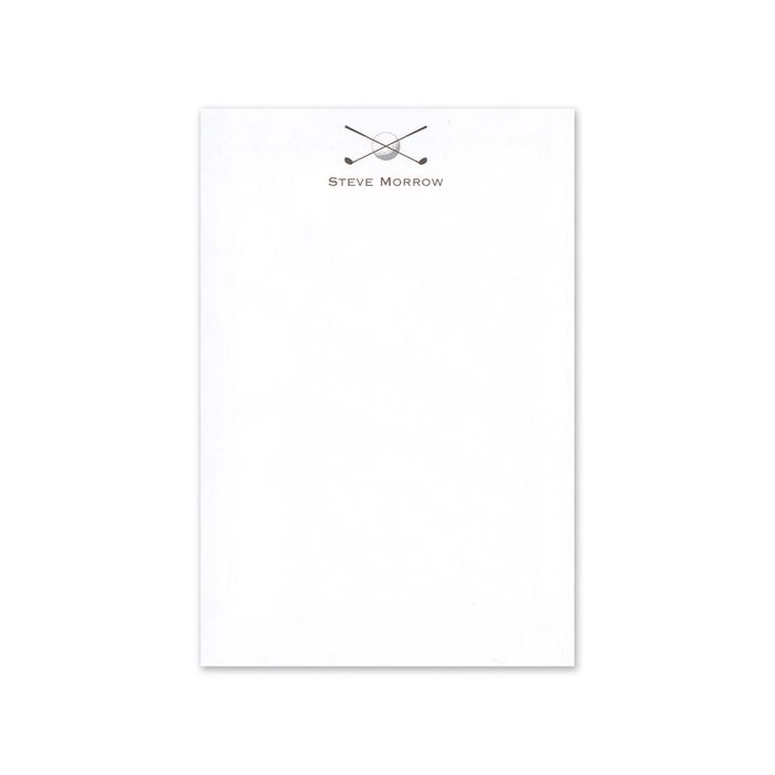 Golf Note Pad