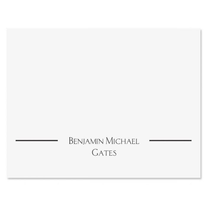 Elegant Note Cards & Envelopes