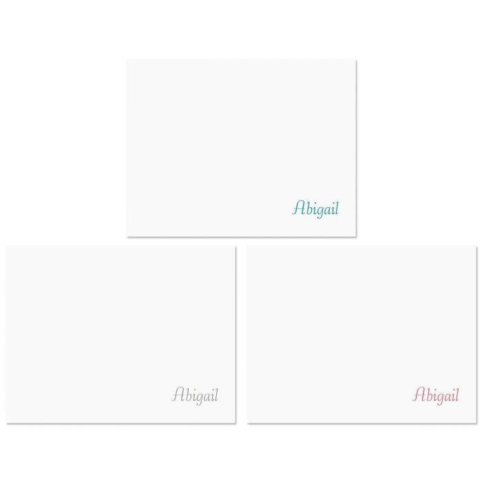 Namesake Note Cards  (3 Colors)