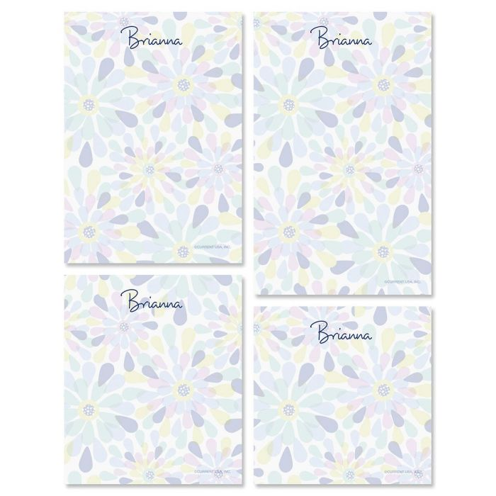 Fresh Blooms Note Pad Set