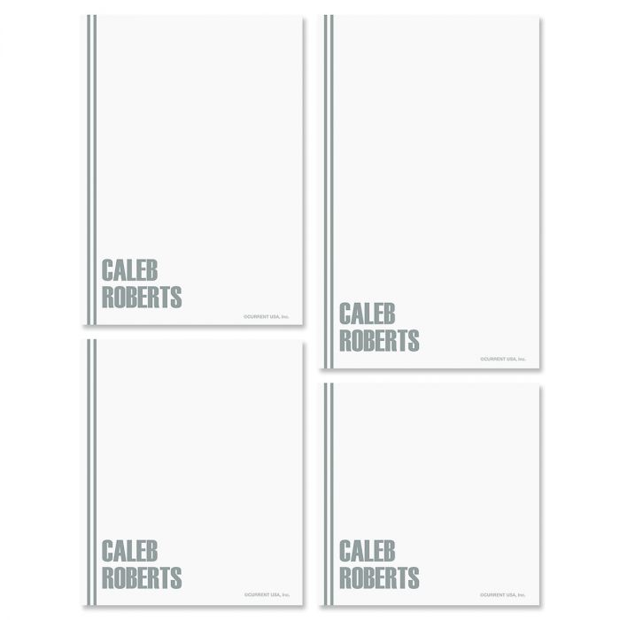 Stylin' Note Pad Set-Grey-609286C